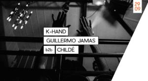 FTWR Records = K-Hand + Guillermo Jamas b2b Childé