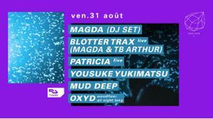 Concrete: Magda, Blotter Trax Live (Magda & Tb Arthur), Patricia live
