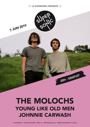 The Molochs en concert au Supersonic (Free entry)