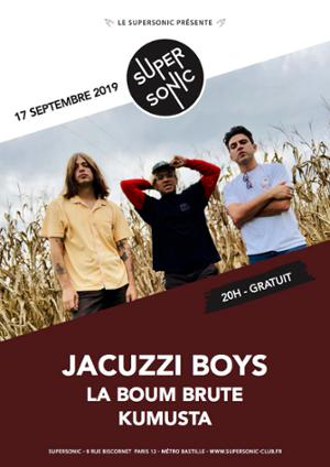 Jacuzzi Boys en concert au Supersonic (Free entry)