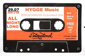 Hygge x L'International : Du Groove All Night Long