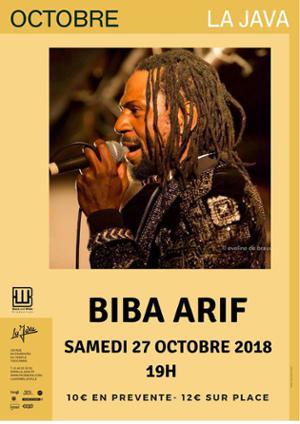 BIBA ARIF @ La Java