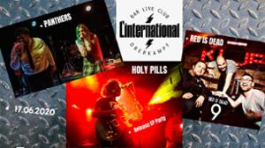 Release EP Party : HOLY PILLS / Panthers / Red Is Dead