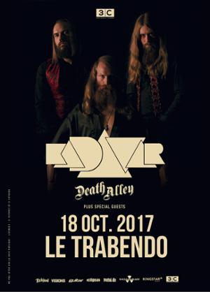 KADAVAR + MANTAR + DEATH ALLEY