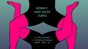 KORIN F.  WHY NICHT  TURFU à l'International