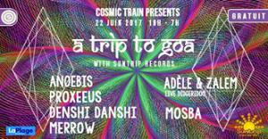 Cosmic Train - a Trip to Goa / Open Air gratuit /Suntrip Records