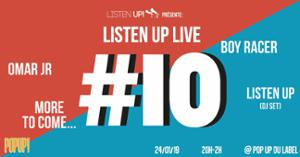 Listen Up Live #10 : Groovy Time!