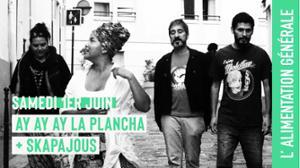 Ay ay ay la plancha (electro cumbia) + Skapajous