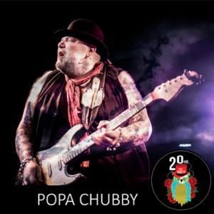 POPA CHUBBY – 20 ans du Cabaret Sauvage !