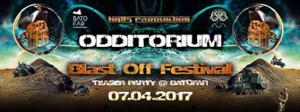 Odditorium #2 Blast Off Fest. w/ Skyhigh Pirates, Hashashin, Otezuka, Spootnik & more @Batofar
