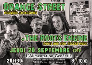 Orange Street + The Roots Engine