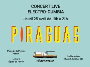 Piraguas - Live - Electrocumbia au Barboteur !