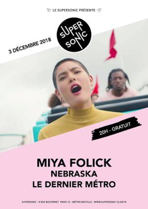 Miya Folick en concert au Supersonic - Entrée gratuite