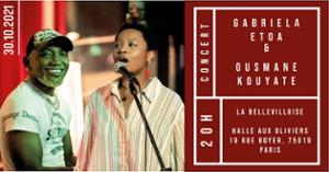 CAFE-CONCERT : GABRIELA ETOA & OUSMANE KOUYATE