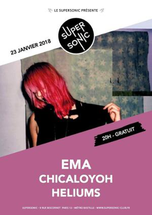 EMA (City Slang) • Chicaloyoh • Heliums / Supersonic - Free