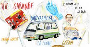 Vie Garantie w/ Geena, La Corde, Dopplereffekt, Marion Guillet