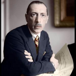 Portrait Igor Stravinski / Passeports d'un exilé (1)