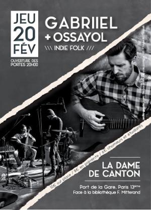 GABRIIEL + OSSAYOL