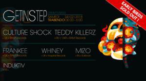 GET IN STEP : CULTURE SHOCK + TEDDY KILLERZ + FRANKEE & MORE