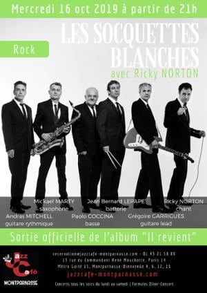 Les Socquettes Blanches & Ricky Norton au Jazz Café Montparnasse
