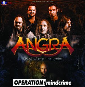 Angra + Operation Mindcrime + Halcyon way + Avelion