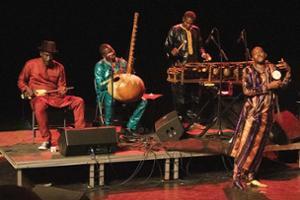 Concert de musique malienne