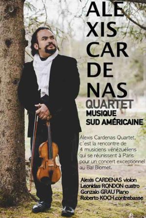 ALEXIS CARDENAS QUARTET