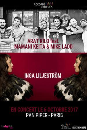 ARAT KILO + MAMANI KEITA & MIKE LADD // INGA LILJESTROM
