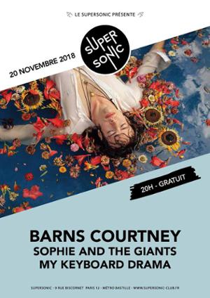Barns Courtney • Sophie and the Giants • My Keyboard Drama