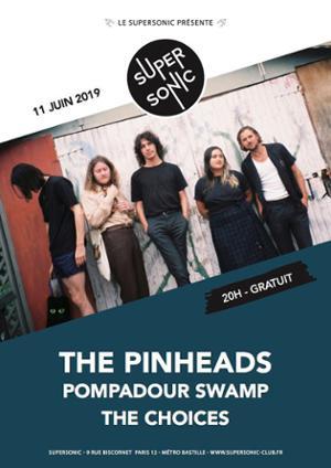 The Pinheads en concert au Supersonic (Free entry)