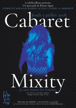 CABARET MIXITY : JE SUIS TOUTES LES FEMMES