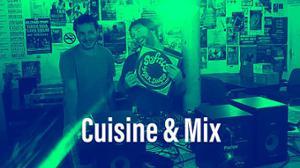 Cuisine & Mix avec DJ KESMO   à la Marbrerie