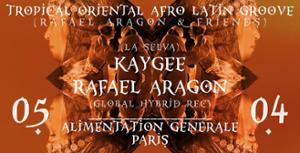Tropical Oriental Afro-Latin Groove w/ Rafael Aragon & Kaygee