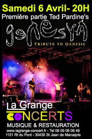 GENESYA Tribute de Genesis - Première partie Ted Pardine's