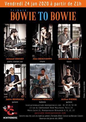 Bowie to Bowie au Jazz Café Montparnasse