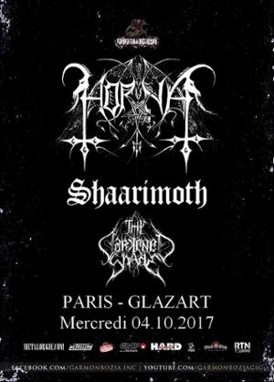 Horna, Shaarimoth, Thy Darkened Shade // Paris