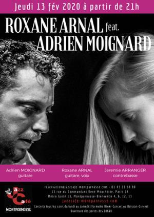 Roxane Arnal feat. Adrien Moignard au Jazz Café Montparnasse
