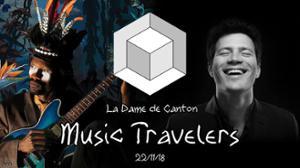Music travelers w/ Nicolas Tarik & SNP Dimension + Pedro Kouyaté