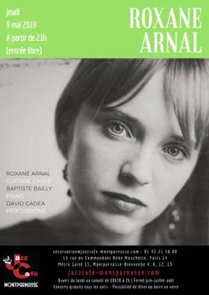 Roxane Arnal au Jazz Café Montparnasse