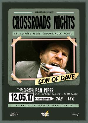 SON OF DAVE + KO KO MO + CATFISH Crossroads Night #5