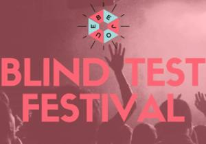 Blind Test Festival / CRIÉ, ÉCRIT, QCM