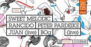 Sweet Melodic invite Peter Pardeike, Randico, BOg, Juan