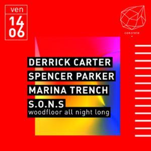 Concrete: Derrick Carter, Spencer Parker, Marine Trench, S.O.N.S
