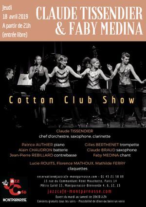 Claude Tissendier & Faby Medina au Jazz Café Montparnasse