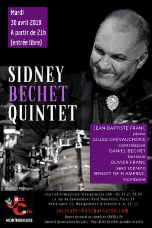 Sidney Bechet 5tet au Jazz Café Montparnasse