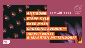Concrete: Antigone, Etapp Kyle, Skee Mask, Crossing Avenue live