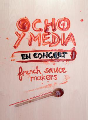 OCHO Y MEDIA au STUDIO DE L'ERMITAGE