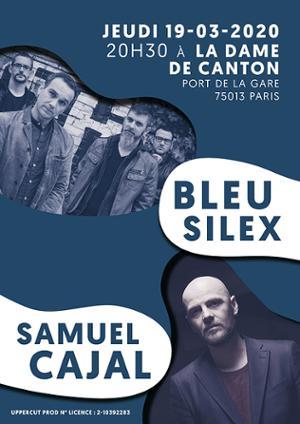 SAMUEL CAJAL + BLEU SILEX