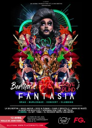 Bertha's Fantasia #3 - Love Is Blind