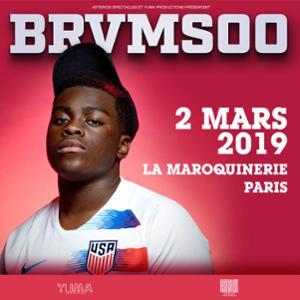 Brvmsoo • La Maroquinerie, Paris • 02.03.19